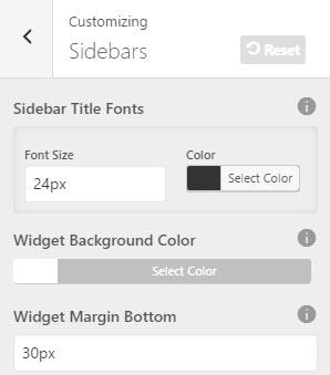 customize-sidebar