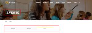 Eduma_tranlate_events_page_before