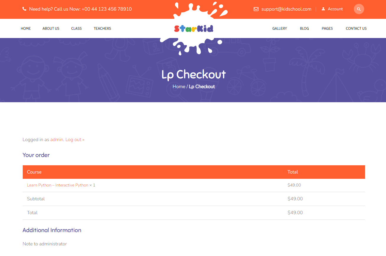 lp-checkout-page